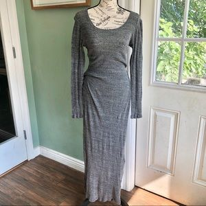 EUC Nightcap Ribbed Long Sleeve Maxi dress